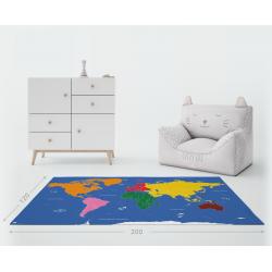 Planisphère Montessori XXL